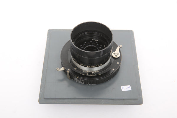 Rodenstock 250mm f5.8 Imagon on homemade Sinar board