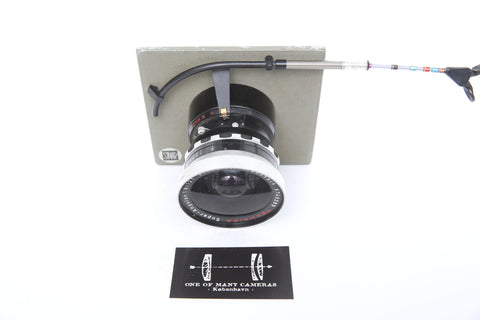 Schneider 121mm f8 Super-Angulon - Linhof Select - on Sinar Norma board