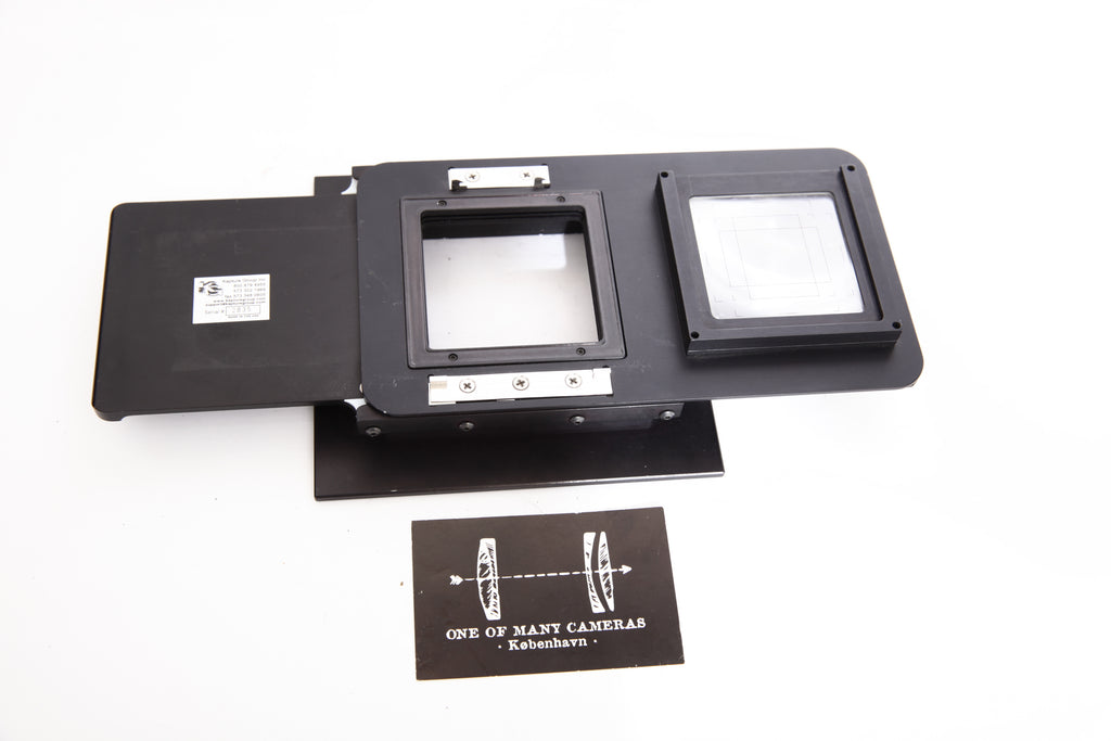 "Kapture Group sliding back for 4x5"" - Hasselblad V mount"