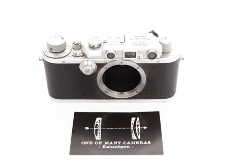 Leica IIIa s/n 211481 chrome