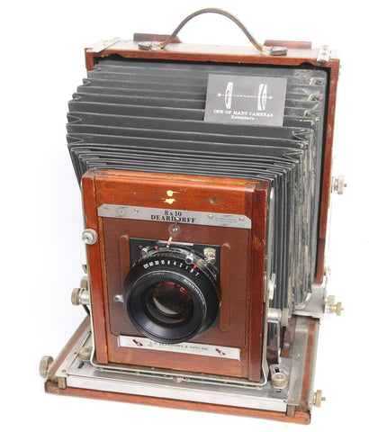 Deardorff v8 8x10 - king of large format cameras