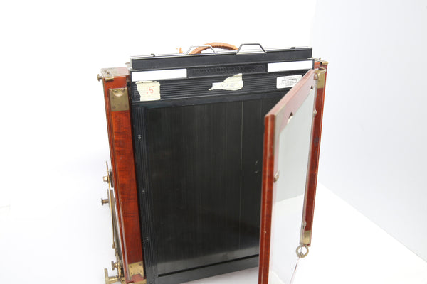 "Thornton-Pickard ""Royal Ruby"" 8x10 field camera for film and wetplate"
