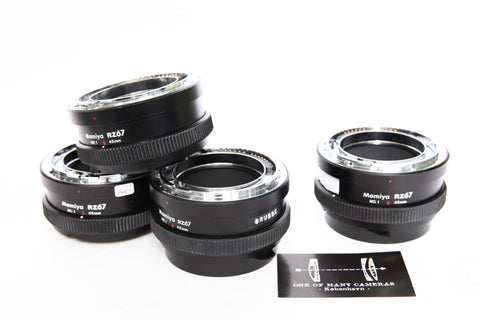 Mamiya RZ67 45mm Extension Ring No 1