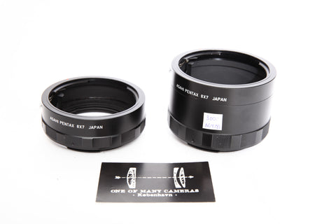 Pentax 67 extension tubes no. 2 and 3