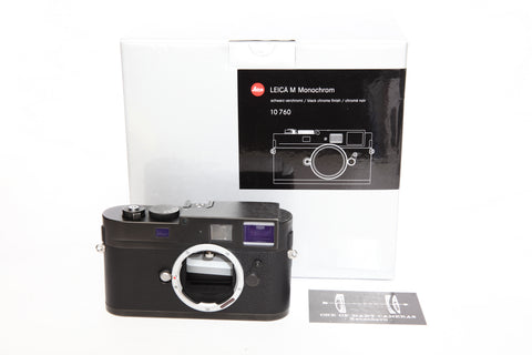 Leica Monochrom - CCD version