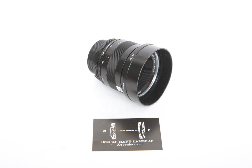 Zeiss ZF.2 50mm f/2.0 Makro-Planar T* for Nikon with hood