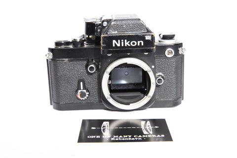 Nikon F2 Black with Photomic DP-1