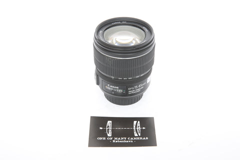 Canon 15-85mm f3.5-5.6 EF-s IS USM