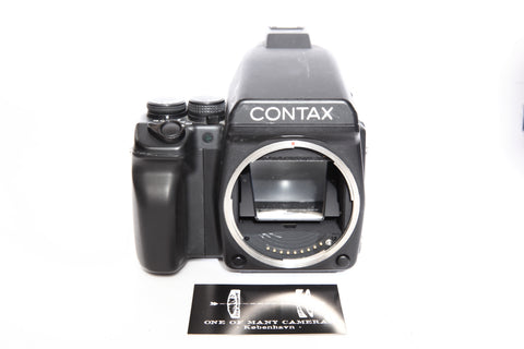 Contax 645 with Prism and Magazine