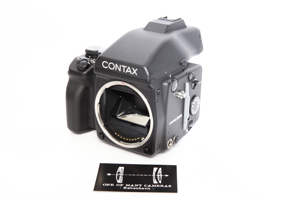 Contax 645 Body with back and finder