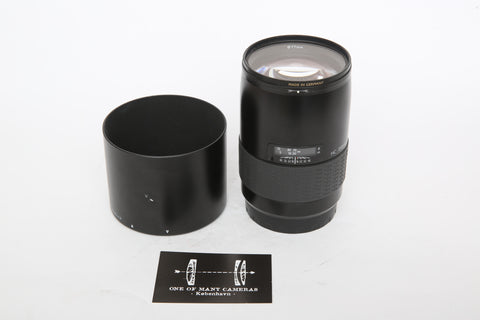 Hasselblad HC 150mm f3.2 with hood