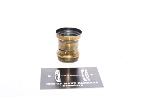 Unknown Brass lens - Rapid Aplanat No 2