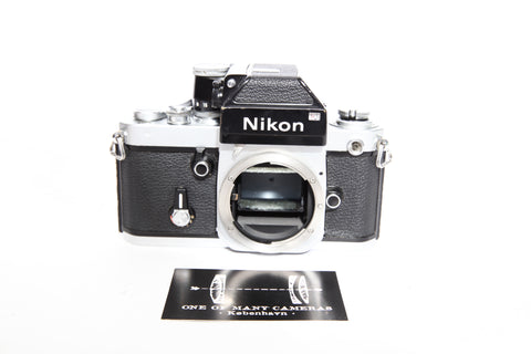 Nikon F2 with Photomic DP-1