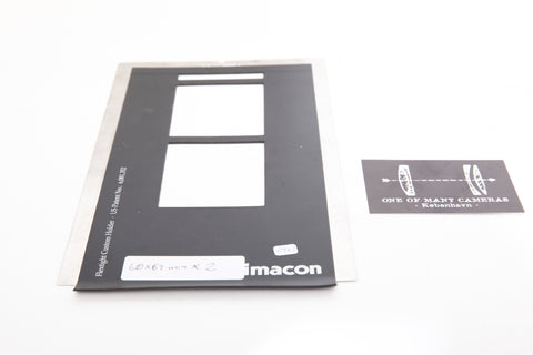Imacon Flextight holder 60x69mm x 2