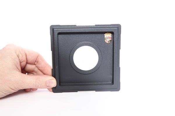 Linhof Recessed Lensboard for Kardan Cameras with #1 Copal/Compur Shutters