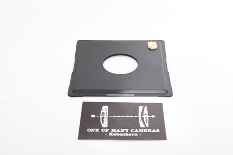 Linhof Lensboard for Kardan Cameras with #1 Copal/Compur Shutters