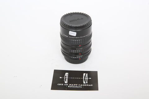 Vivitar Automatic Extension Tube AT-22 36mm, 20mm and 12mm for Pentax