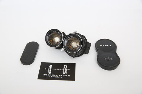 Mamiya C 55mm f/4.5 for TLR C-series