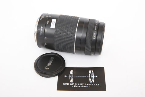 Canon 75-300mm f4-5.6 Zoom EF III