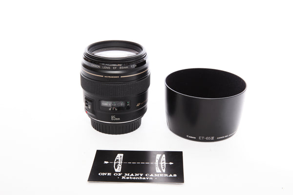 Canon 85mm f1.8 Utrasonic