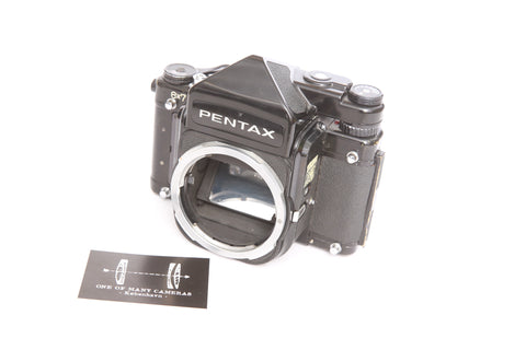 Pentax 6x7 with TTL Prism Finder