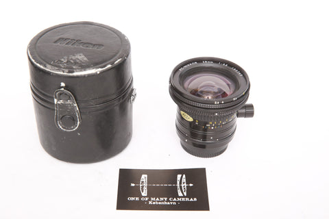 Nikon 28mm f3.5 SHIFT PC-Nikkor