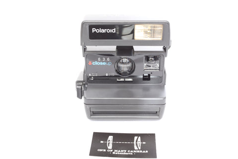 Polaroid 636 Close Up with strap
