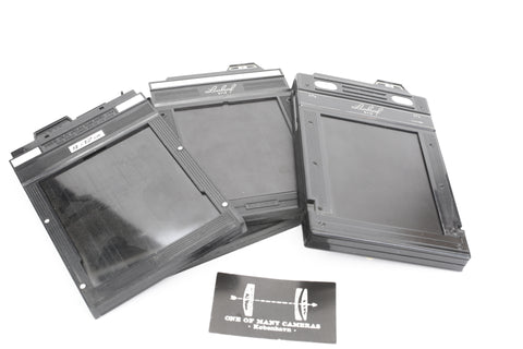 Fidelity 9x12 film holder
