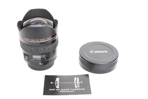 Canon EF 14mm f2.8 L Ultrasonic