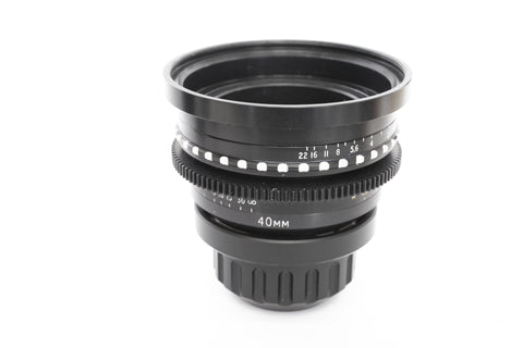 Cooke Speed Panchro SII 40mm T2.2 - PL Mount - Rental Only