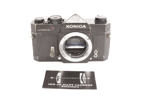 Konica Autoreflex T Black - new light seals