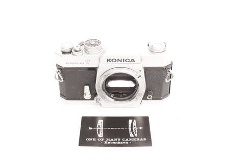 Konica Autoreflex T Chrome - new light seals