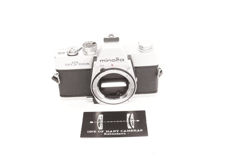 Minolta SRT100X Chrome - new light seals