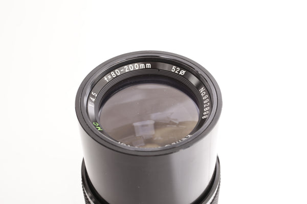 Kenlock 80-200mm f4.5 MC Tor - for Canon FD