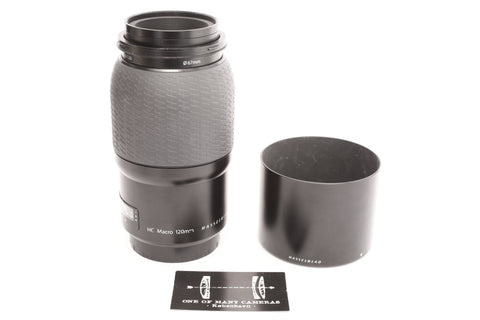 Hasselblad HC 120mm f4 Macro with Hood