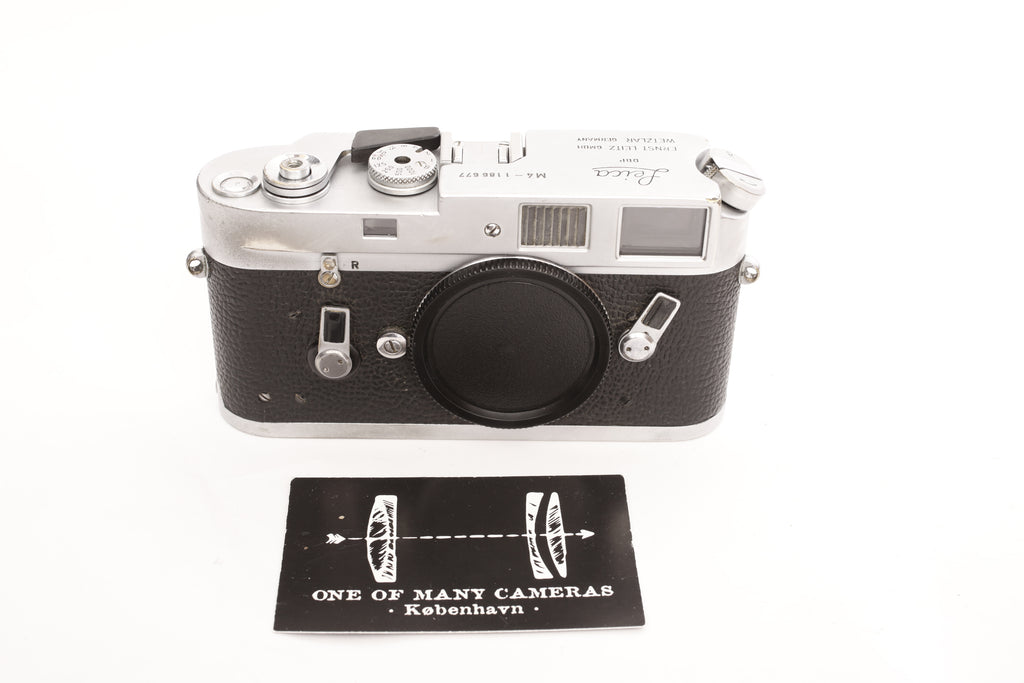 Leica M4 Chrome - completely restored February 2019