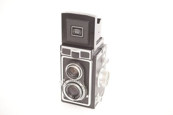 Zeiss Ikon Ikoflex IC 6x6 TLR with 75mm f3.5 Tessar - Working light meter!