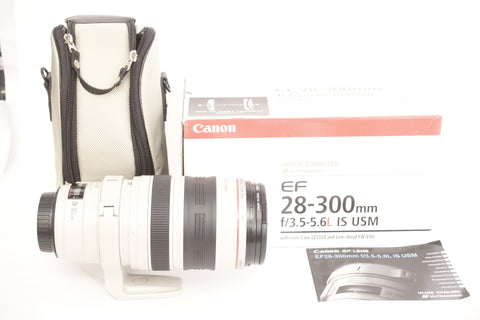 Canon EF 28-300mm f3.5-5.6 L IS USM with box
