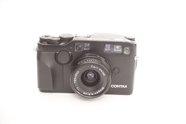Contax G 28mm f2.8 Biogon - Black