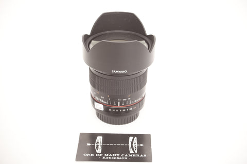 Samyang 10mm f2.8 ED AS NCS CS - for Canon