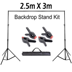 Backdrop Stand Kit 2.5m X 3m