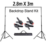 Backdrop Stand Kit 2.8m X 3m