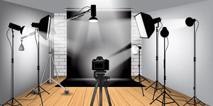 Black & White photography backdrop background