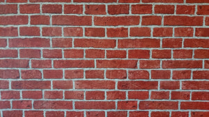 Red Brick Wall Backdrop