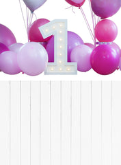 Backdrop - 1st Birthday All In One Backdrop