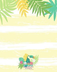 Backdrop - Aloha Hawaiian Party
