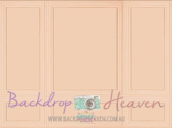 Backdrop - Apricot Wall Panel