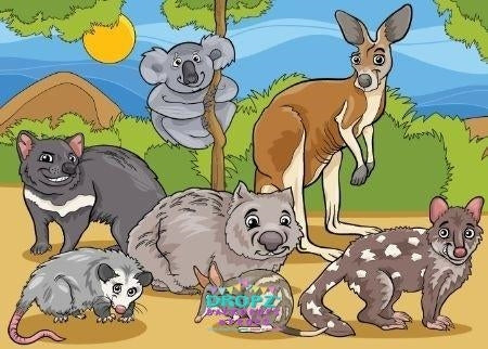 Backdrop - Australian Animal Background
