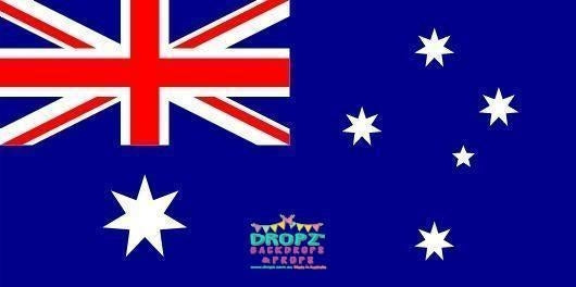 Backdrop - Australian Flag Backdrop