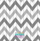 Aztec Grey Chevron